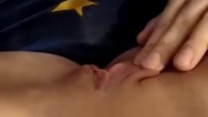 Horny old guy likes to watch his best friend's daughter licking her girlfriend's pussy