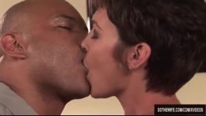 Black milf is fisting her naughty friend's tight ass, in front of a fire place